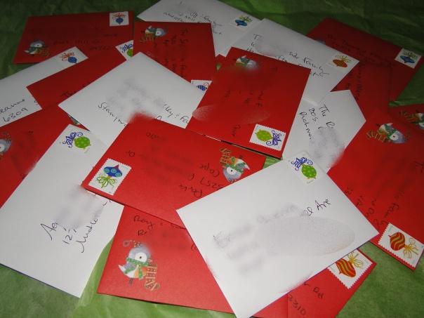 card pile